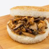 【KK Life-蔬食系列】三杯風味珍菇米漢堡 (180g/顆; 3顆/袋)