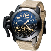 GRAHAM 格林漢 左冠計時機械腕錶 2CCAU.B02A.T13N