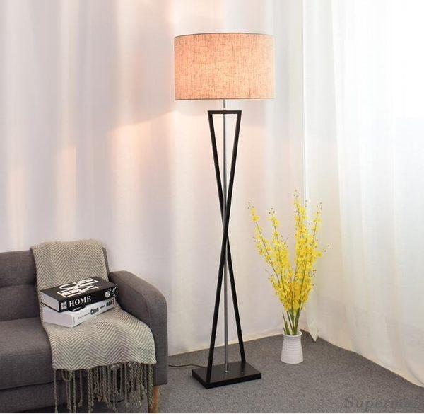 落地燈 - 客廳落地燈臥室美式北歐床頭立式檯燈 jy【快速出貨中秋節八折】