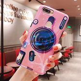 【SZ14】復古藍光相機全包歐美三星s7 edge 手機殼S8 PLUS note8/9軟殼 s9 s9plus保護套