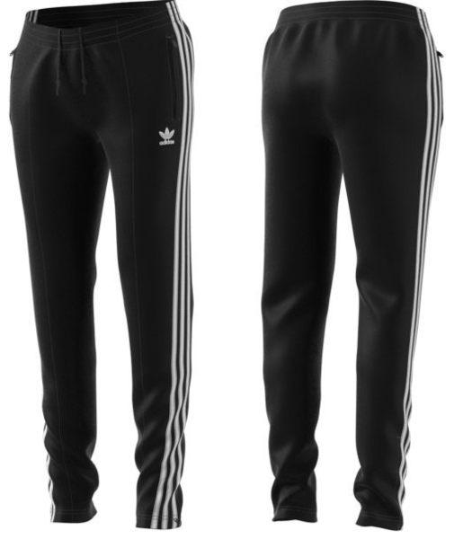 【現貨折卷後2280】adidas 愛迪達 Adidas Originals 黑色長褲 棉長褲 縮口褲 angelababy 女 CE2400