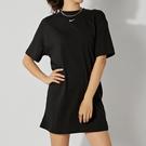 Nike AS W NSW Essntl Dress 女 黑 運動 休閒 長版洋裝 短袖 CJ2243-010