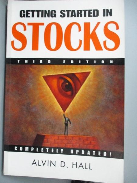 【書寶二手書T9/股票_YBX】Getting Started in Stocks (Getting Started I