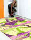 【范登伯格】奧瓦柔亮絲質感地毯-葉燦-170x230cm
