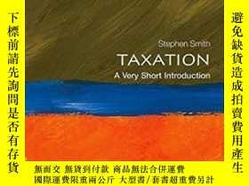 二手書博民逛書店Taxation:罕見A Very Short Introduc