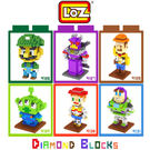 LOZ 迷你鑽石小積木 玩具總動員系列 ...