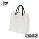 手提袋-編織袋(S)-白-03C