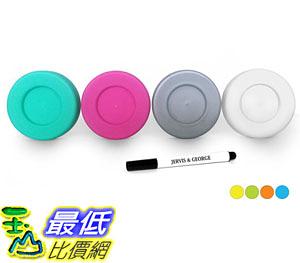 [7美國直購] 梅森瓶內置式瓶蓋 Mason Jar Lids Compatible with Regular Mouth Size Ball Jars Reusable and Leak Proof
