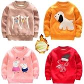 店長推薦 童裝秋冬男女童加絨打底衫兒童雙面絨毛衣0-5歲寶寶套頭加厚衛衣