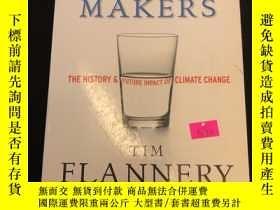 二手書博民逛書店The罕見weather makersY302880 Tim flannery The text publis