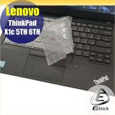 【Ezstick】Lenovo ThinkPad X1c 5TH 6TH 奈米銀抗菌TPU 鍵盤保護膜 鍵盤膜