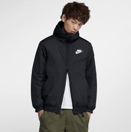 NIKE SPORTSWEAR SYNTHETIC FILL -男款連帽外套- NO.928862010