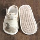 嬰兒涼鞋0-1歲寶寶學步鞋軟底夏季女布6...