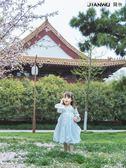 中國風唐裝寶寶夏裝公主紗裙
