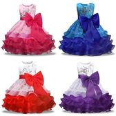 六一兒童禮服蓬蓬裙女童舞蹈演出裙中小童花童主持走秀表演出服裝
