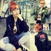 飛行夾克 韓版 休閒 棒球外套  紐約周