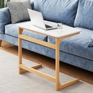 北歐客廳沙發邊几桌可移動小戶型實木簡易床...