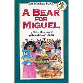 〈汪培珽英文書單〉〈An I Can Read系列:Level 3)A BEAR FOR MIGUEL / 讀本