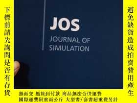 二手書博民逛書店JOURNAL罕見OF SIMULATION Volume10