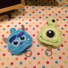 【發現。好貨】玩具總動員3 毛怪 大眼仔 毛絨鑰匙收納包鑰匙圈大頭鑰匙包鑰匙扣零錢包
