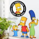 辛普森家族居家裝飾貼紙款式隨機出貨700466通販屋