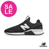 【出清下殺】New Balance 成人男女款 247 情侶鞋 運動鞋 經典時尚款式 強勢回歸 P8439#黑色◆奧森