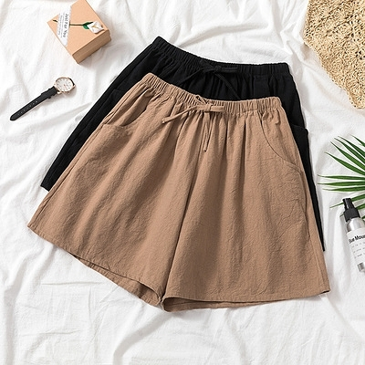 XL-4XL胖妹妹大碼休閒短褲~胖MM棉麻短褲1500.MA151A衣時尚