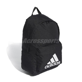 adidas 後背包 Classic Big Logo Backpack 黑 白 男女款 經典款 運動休閒 【ACS】 FS8332