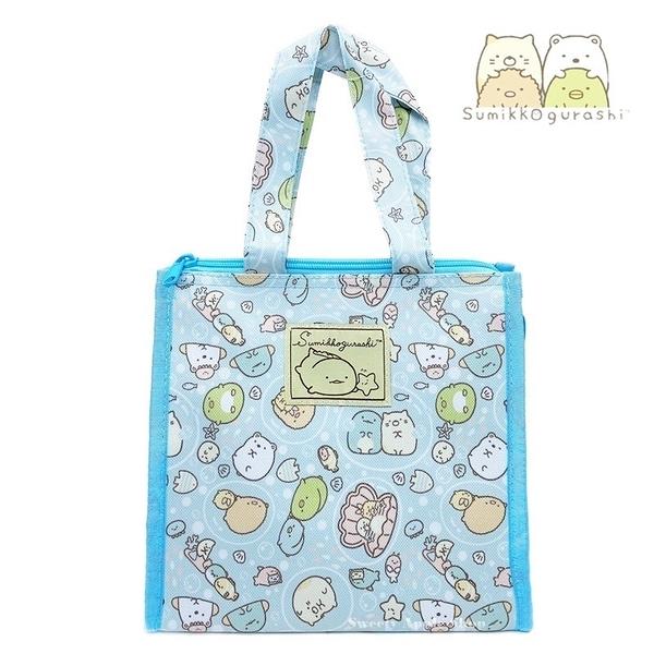 日本限定 SAN-X 角落生物 海洋版 (方型) 保冷袋 / 手提袋 / 手提袋 / 餐袋 / 便當袋