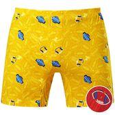 DADADO-橄欖球 M-3L 印花平口內褲(紅)GH7301-RE