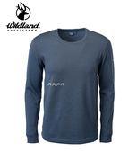 丹大戶外用品【Wildland】男 POWER GRID 底層保暖衣 型號 P2666-93 深灰色