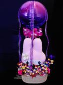 美樂蒂與滿滿金莎棒 幸福熱氣球,七夕/金莎花束/情人節禮物/婚禮佈置,節慶王【Y067672】
