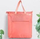 防水袋 防水手提袋帆布袋定制大容量袋子折疊便攜買菜包環保購物袋【快速出貨八折鉅惠】