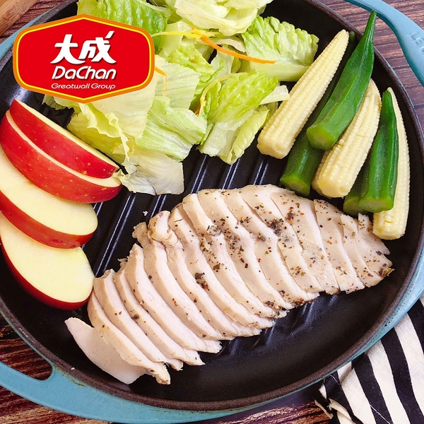 【大成】經典美式香草風味雞胸肉*1片組(100g/片)