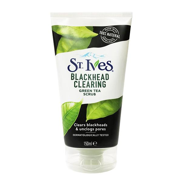 英國 St Ives 綠茶磨砂膏 Blackhead 去黑頭款 150ml (去角質)