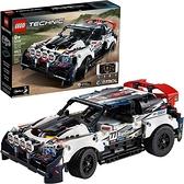 LEGO 樂高 技術應用控制的頂級排擋拉力賽車42109賽車玩具組裝套件 (463件)