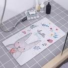 ★洗澡墊子衛生間地墊家用大號帶吸盤腳墊~
