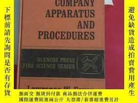 二手書博民逛書店fire罕見company apparatus and proc