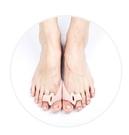 分趾器兒童腳趾器 小孩成人大拇指拇外翻重疊趾硅膠分指器 日夜用可卡衣櫃