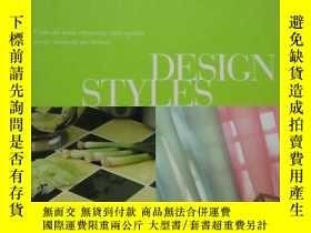 二手書博民逛書店DESIGN罕見STYLES (設計風格) 大16開硬精裝Y24