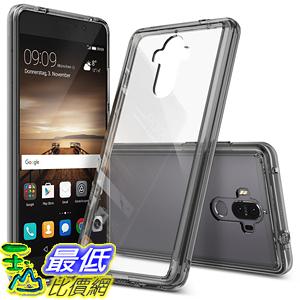 [106美國直購] Huawei Mate 9 Case 手機殼 Ringke [FUSION] Tough PC Back TPU Bumper Raised Huawei Mate 9 Smoke Black