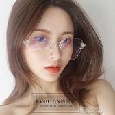 裝飾眼鏡-裝飾平光鏡女大框透明眼鏡男墨鏡男女裝飾眼鏡 夏沫之戀