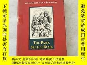 二手書博民逛書店The罕見Paris Sketch Book 薩克雷遊記隨筆經典