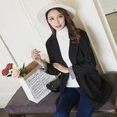 休閒西裝外套女春2019新款韓版時尚寬鬆顯瘦雙排扣長袖中長款西服