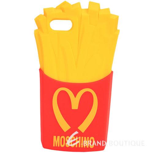 MOSCHINO Gennarino 薯條造型矽膠 iPhone5 手機殼 保護套 1510664-54