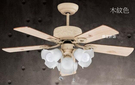 【燈王的店】啄木鳥 台灣製 52吋吊扇+燈具 木紋277A9711