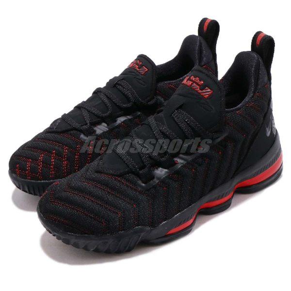 best website 61278 7ce81 Nike Lebron XVI PS 黑 紅 16代 襪套式 氣墊 LBJ16 籃球鞋 童鞋 中童鞋 【PUMP306】 AQ2467-002