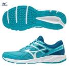 MIZUNO SPARK 6 女鞋 慢跑 健走 耐磨 輕量 藍【運動世界】K1GA210402