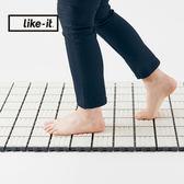 【日本like-it】拼接式排水止滑地墊-6片組