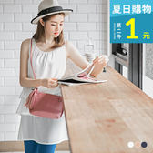 OB嚴選《AA9528-》雪紡素面蛋糕層次下擺設計長版上衣.3色--適 S~L